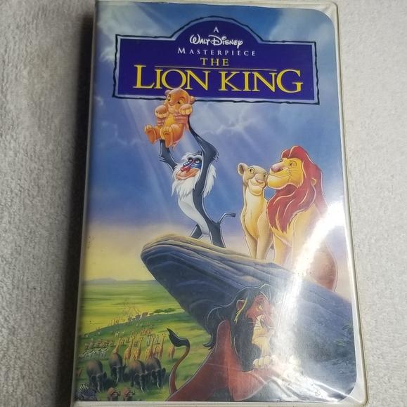4/$25 ❤ Disneys The Lion King vhs